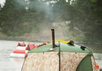 Мобильная баня палатка МОБИБА МБ-10А цена без печи. Купить с доставкой Украина, Киев