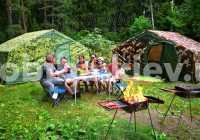 Всесезонная отапливаемая экспедиционная палатка РОСНАР Р-34 Мобиба. Купить с доставкой Украина, Киев