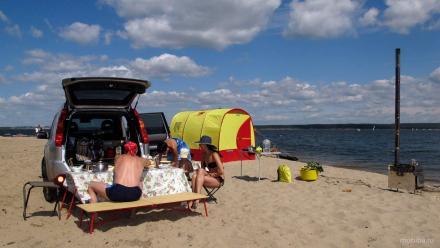 Походная туристическая баня. Купить Киев Украина недорогую мобильную баню Мобиба для похода и туристического отдыха на природе