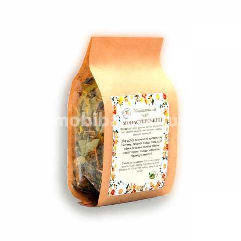 Натуральный Карпатский чай Монастырский из трав Украина Киев. Купить травяной карпатский чай в магазине