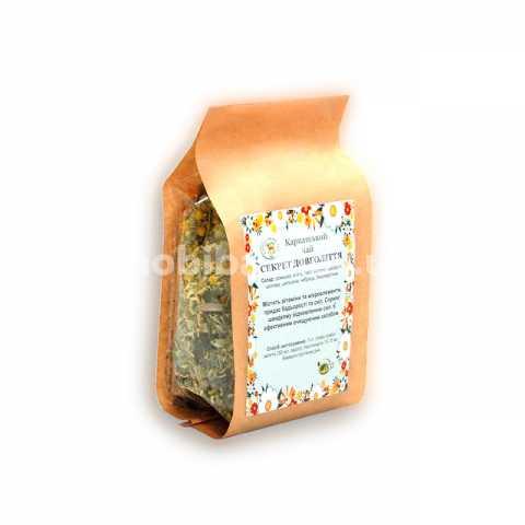 Натуральный Карпатский чай Секрет Долголетия из трав Украина Киев. Купить травяной карпатский чай в магазине