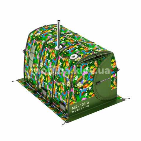 Универсальная большая кемпинговая палатка Мобиба МБ-103 М Эконом. Купить с доставкой Украина, Киев