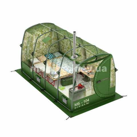 Универсальная большая кемпинговая палатка Мобиба МБ-104 М. Купить с доставкой Украина, Киев