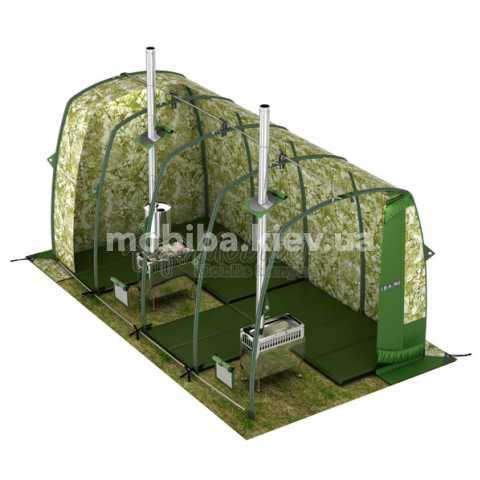 Комплект зимнего утепленного теплого пола для палаток Мобиба ПУ-104. Купить Киев Украина