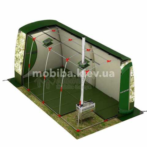 Комплект зимнего утепленного теплого пола для палаток Мобиба ПУ-442. Купить Киев Украина