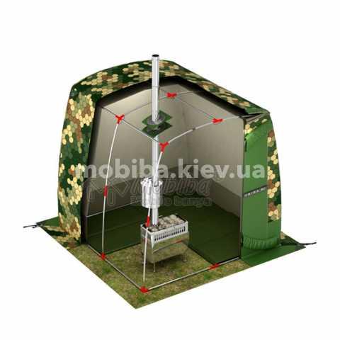 Комплект зимнего утепленного теплого пола для палаток Мобиба ПУ-22-10. Купить Киев Украина