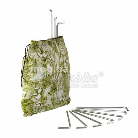 Комплект колышков 4 220 10 шт для палаток Мобиба. Купить Киев Украина