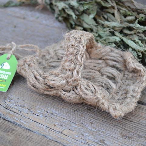 Натуральная мочалка из льна Украина доставка Киев. Льняная экологически чистая мочалка для бани, сауны и принятия ванны