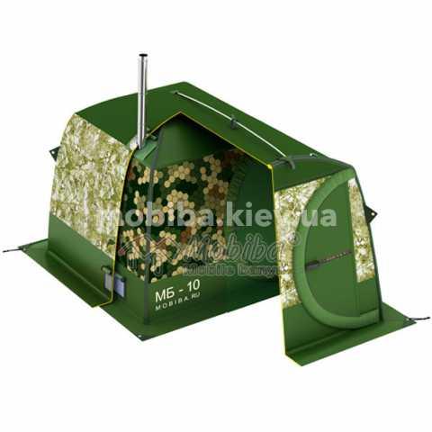 Купить Тент накидной для палатки Мобиба МБ-10 А Киев Украина, мобильніе бани палатки.