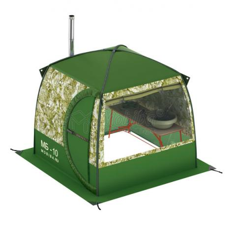 Мобильная баня палатка Мобиба МБ-10А Аквариум 1 без печи. Купить с доставкой Украина, Киев