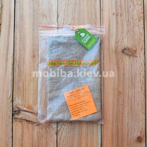 Купить Мочалки для саше с целебными травами Киев Украина. Мочалки из льна для травяных саше