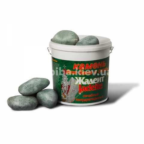 Жадеит банный, шлифованный 20кг. Камни жадеита для банной печи Украина, Киев