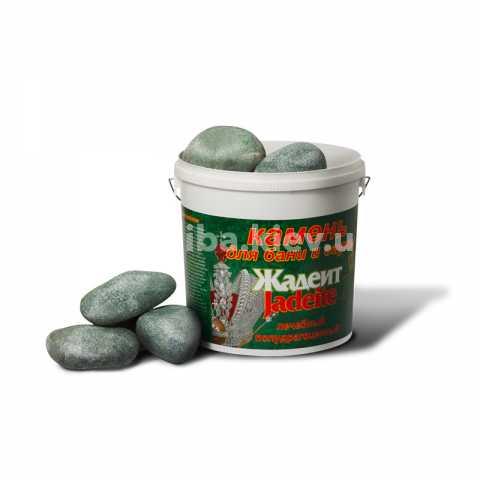 Жадеит банный, шлифованный 5кг. Камни жадеита для банной печи Украина, Киев